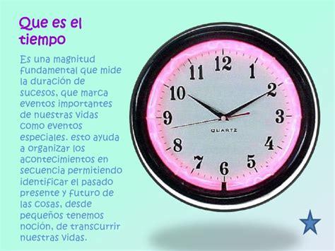 el tiempo the el tiempo