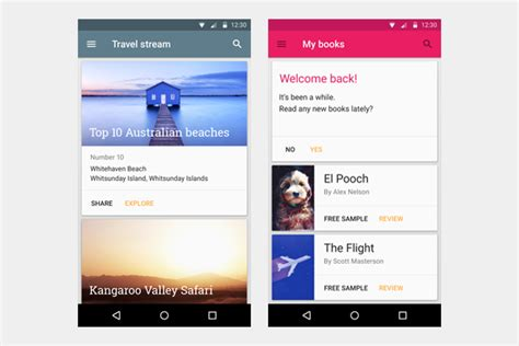 card material what you can learn from google s material design