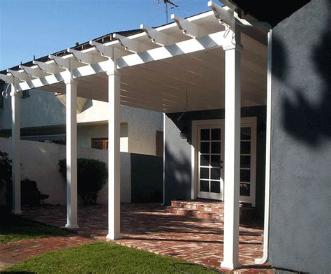 solid vinyl patio covers vinyl patio covers louvred patio covers los angeles ca buy gates simi valley valencia gates