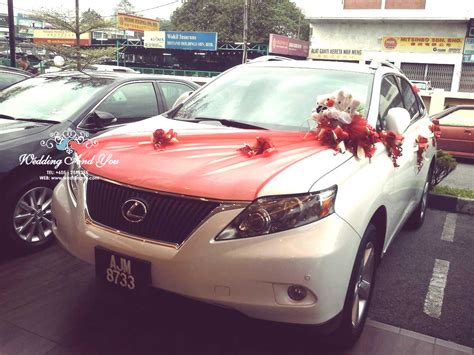 Wedding Car Deco by Wedding Car Decoration Car