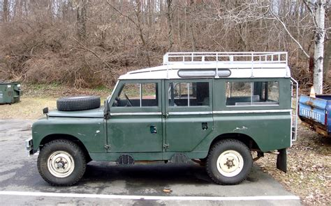 The Street Peep 1967 Land Rover Series Iia Lwb Safari Roof