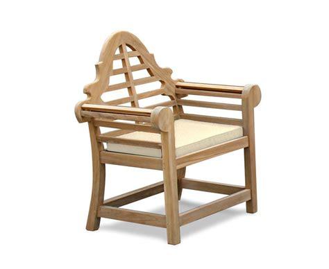 Outdoor Armchair Cushions by Outdoor Cushion Custom Made For Our Lutyens Garden Armchair