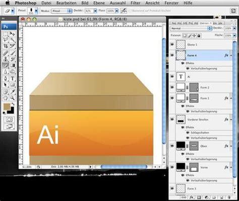 pattern photoshop box photoshop tutorial illustrator box icon erstellen