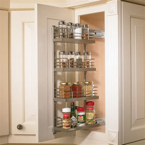 kitchen cabinet pull out spice rack hafele kessebohmer spice rack pull out frame 543 34 930