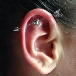 top ear bar best 25 bar ear piercing ideas on pinterest ear
