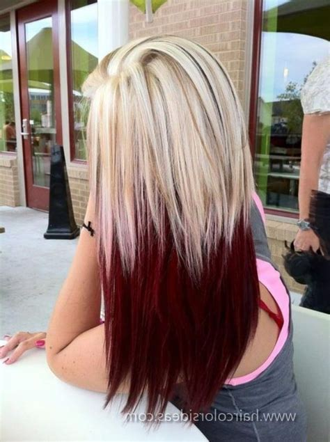 Hairstyles With Highlights Underneath | black hair with highlights underneath wallpaper red hair