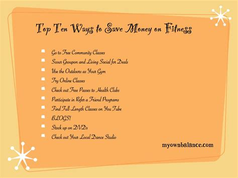 how do i save money to buy a house top ten ways to save money on fitness my own balance