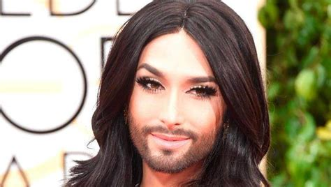 Conchita Wurst Conchita 1cd 2015 photos conchita wurst s beard at 2015 golden globes