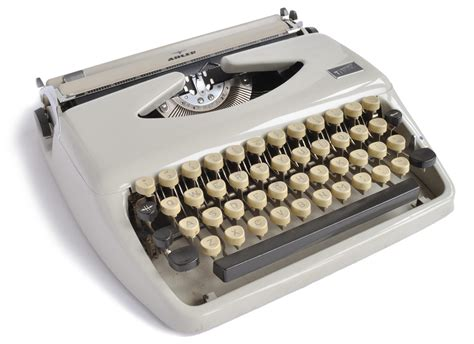 Mesin Tik manual typewriter work nostalgia