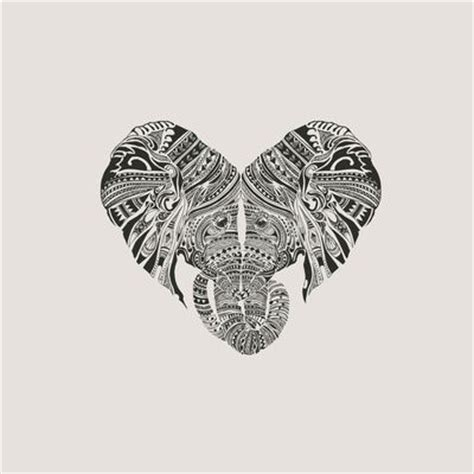 elephant tattoo we heart it tatouages sœurs id 233 es de tatouages and art cœur on pinterest