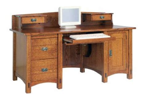 computer desk with tower storage valley hardwoods springhill computer desk with