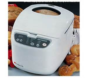 regal k6725 kitchen pro 2 lb horizontal breadmaker qvc