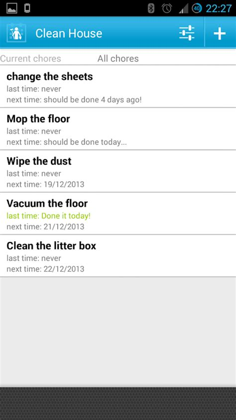 home chores app clean house chores schedule android apps on google play