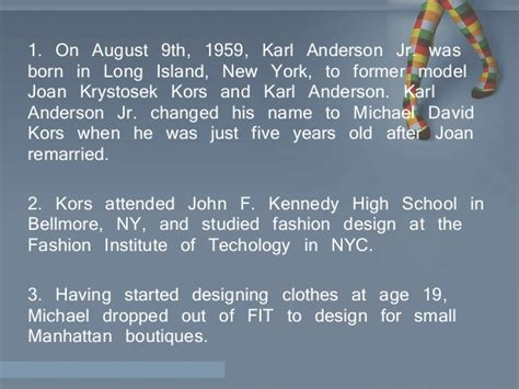 fashion design facts know your fashion designers 10 facts about michael kors