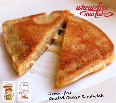 Detox Grilled Cheese by 100 Wheat Belly Recipes On Grain Brain Wheat