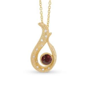 Blood Ruby 18 34ct colored necklaces pendants yellow pink blue