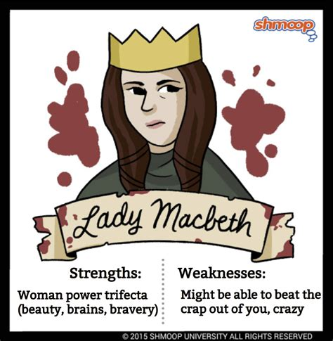 macbeth themes shmoop lady macbeth in macbeth
