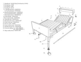 Sleep Number Bed Parts Diagram Multi Height Manual Hospital Bed Drive