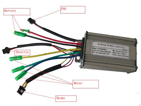 wiring diagram for electric bicycle battery for electric