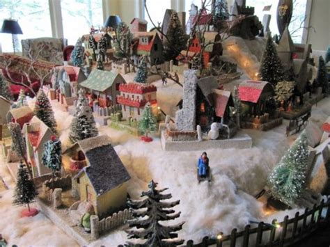 layout for christmas village christmas village putzes and train layouts submitted for 2009