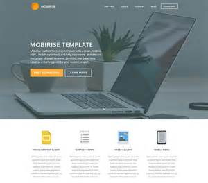 Simple Bootstrap Template by 66 Free Responsive Html5 Css3 Website Templates 2017