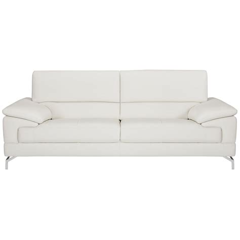 city furniture dash white microfiber sofa