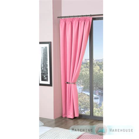 kids thermal curtains childrens plain colour dyed blackout thermal curtains tape
