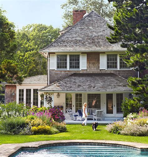 Traditional Cottage by Lovley Htons Guest Cottage Traditional Home