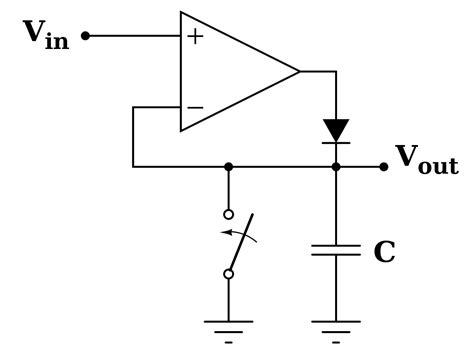 rectifier diode wiki file peakdet svg wikibooks open books for an open world
