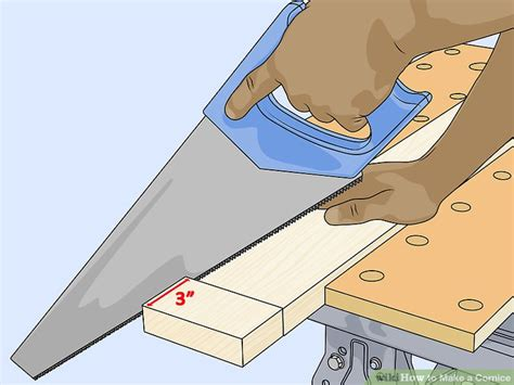 how to make a cornice how to make a cornice with pictures wikihow