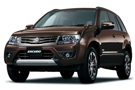 Maruthi Suzuki New Car 2013 New Maruti Grand Vitara 3 Quarter Front Brown Metallic
