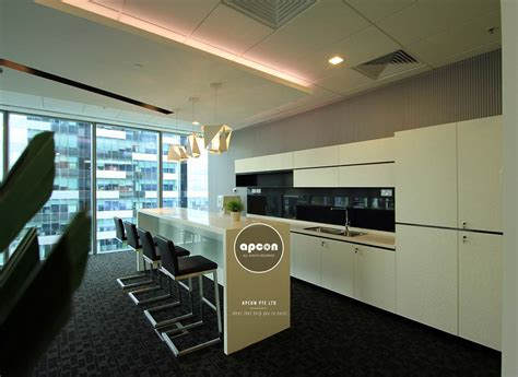 pantry counter products office interior design singapore apcon pte ltd