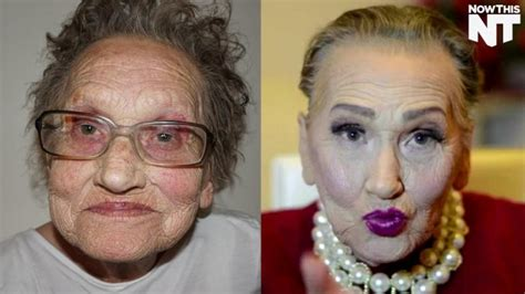 old men make overs grandma s stunning makeover takes internet by storm aol