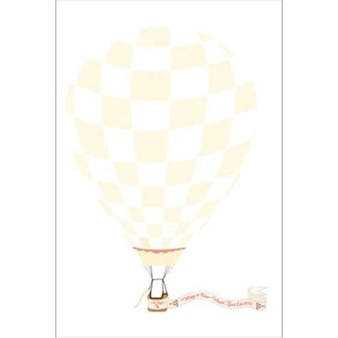 Wedding Signature Banner by Air Balloon Banner Signature Certificate Confetti Co Uk