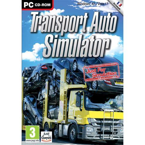 to pc transport auto simulator pc jeux pc just for sur