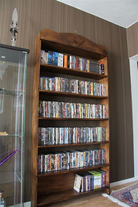 cool dvd rack furniture cool dvd storage ideas holds your precious collection with style teamne interior