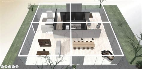 A Virtual Look Into Mies van der Rohe's Core House   ArchDaily