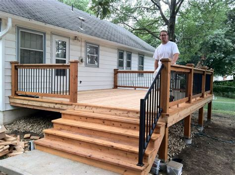 small backyard deck a small back deck home design pinterest decking