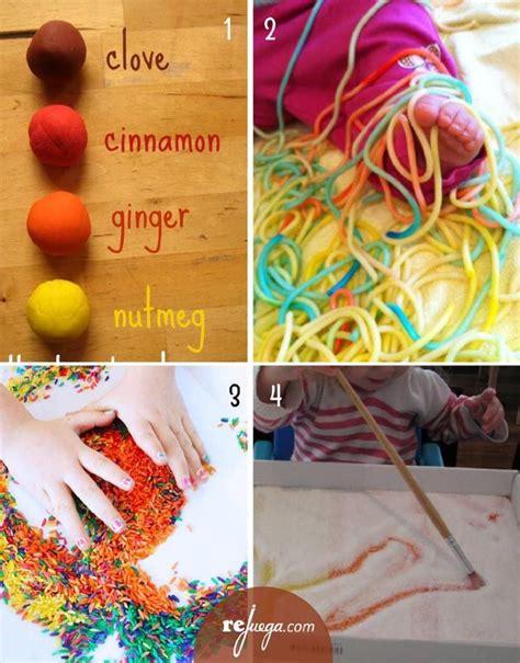 imagenes de juegos sensoriales 5 ideas para hacer con ni 241 os en octubre rejuega y