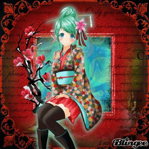 imagenes anime kimono anim 233 girl kimono fotograf 237 a 120130360 blingee com
