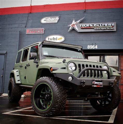 Souped Up Jeep Wrangler Gives Jeep Wrangler A Makeover Jk Forum