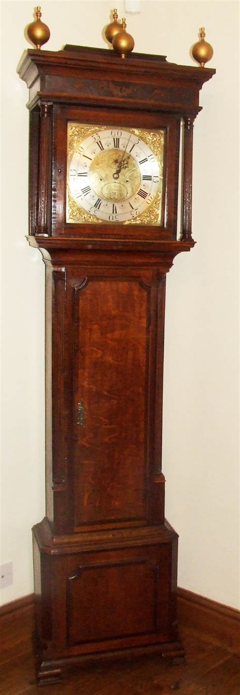 grandfather clock antique longcase grandfather clock thomas richardson for