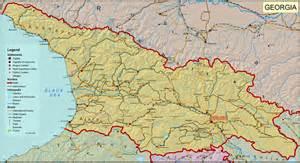 georgias map large detailed road map of large detailed