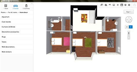 Home Plans With Photos Of Interior by Free Floor Plan Software Homebyme Review