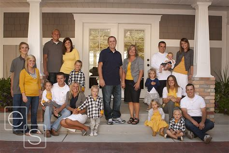 63 best family portrait color schemes ideas images on family picture clothes by color series yellow capturing