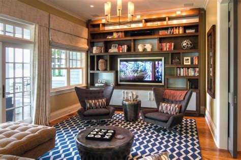 chic home design llc new york sag harbor ny residence beach style home theater new york by willey design llc