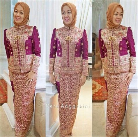 Baju Kebaya Songket Muslim 17 beste idee 235 n kebaya moslim op jurk kebaya en kebaya brokat