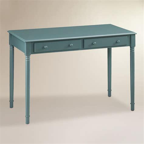 agate green wood farran writing desk world market
