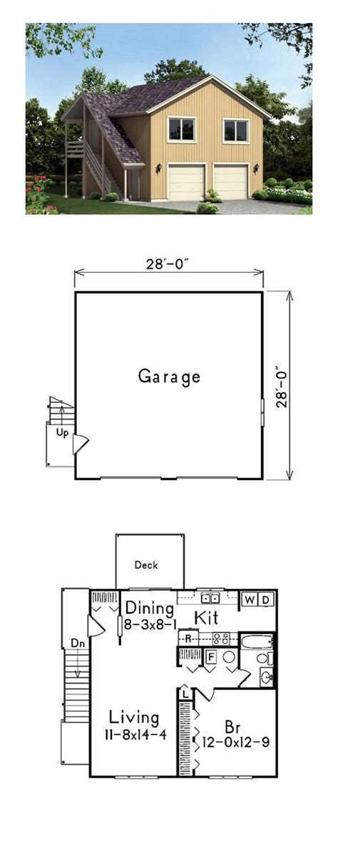 Garage Studio Apartment Plans by Best 25 Garage Apartments Ideas On Garage