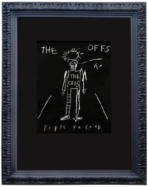 test pattern basquiat jean michel basquiat the offs print at 1stdibs
